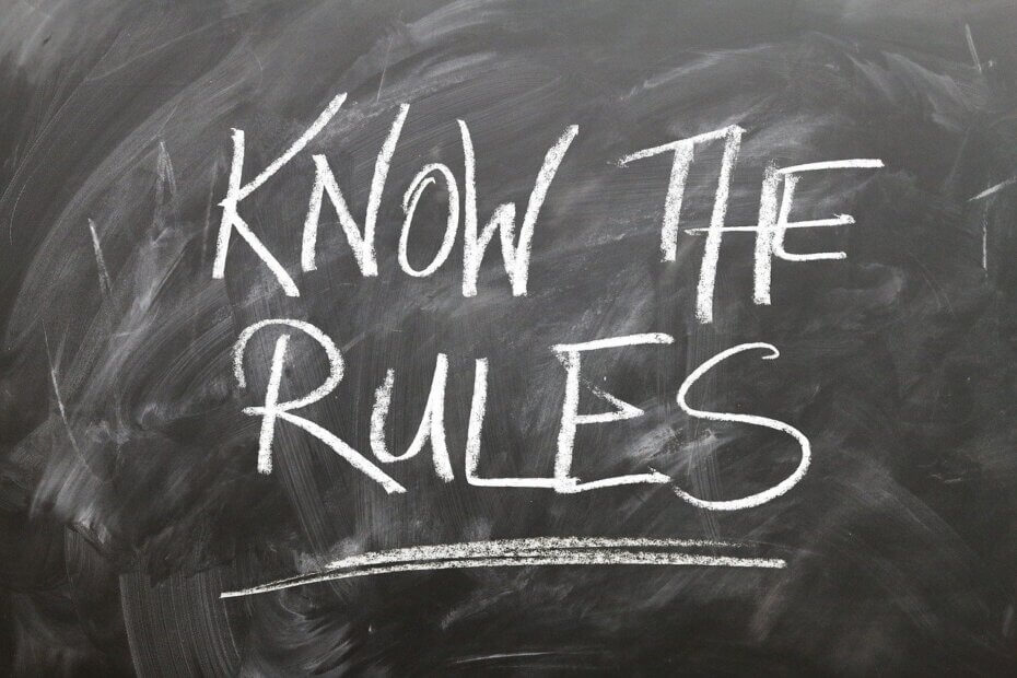 Правила и привычки